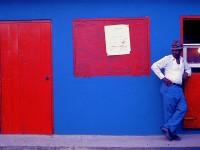 Blue _Pants _man  _Pinones_ Puerto Rico