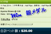 浅田真央選手の勝利をブックメーカー!目指せ金メダルと$230ドル