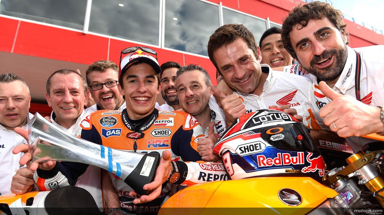 MotoGP 2014第3戦アルゼンチナGP:ホンダ1,2フィニッシュ