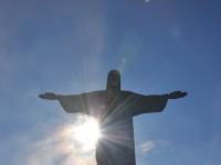 Mike Vondran at Christ the Redeemer, Corcovado, Rio de Janeiro, Brazil, December 30 2008.